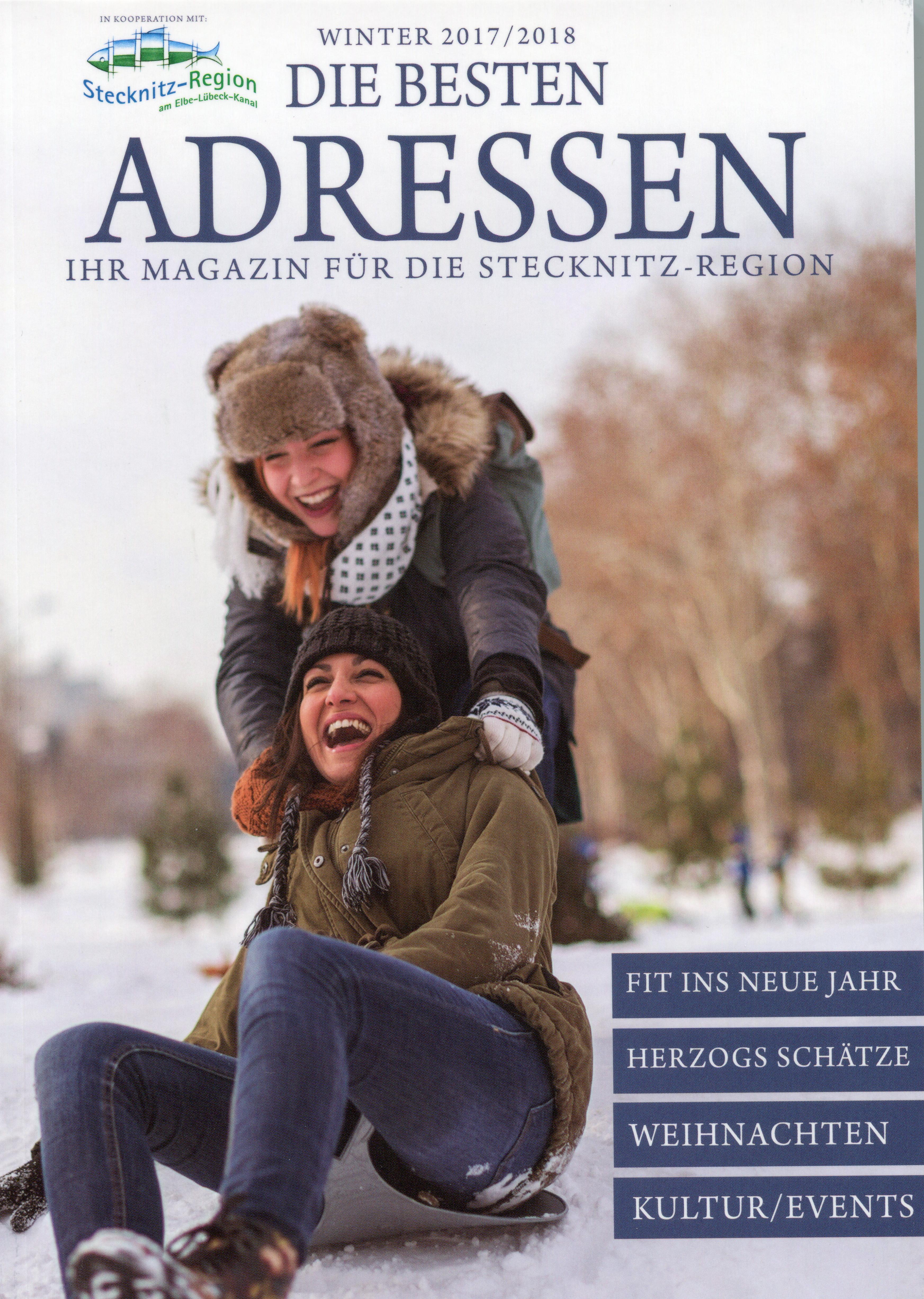 """Lob Für Magazin """"DIE BESTEN ADRESSEN"""""""