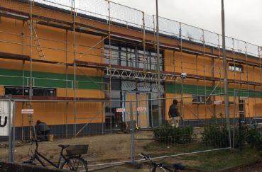 Neubau Der Sport- Und Mehrzweckhalle In Berkenthin Geht Gut Voran