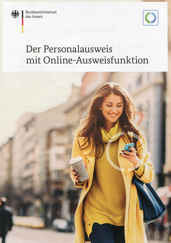 Personalausweis mit Online-Funktionen
