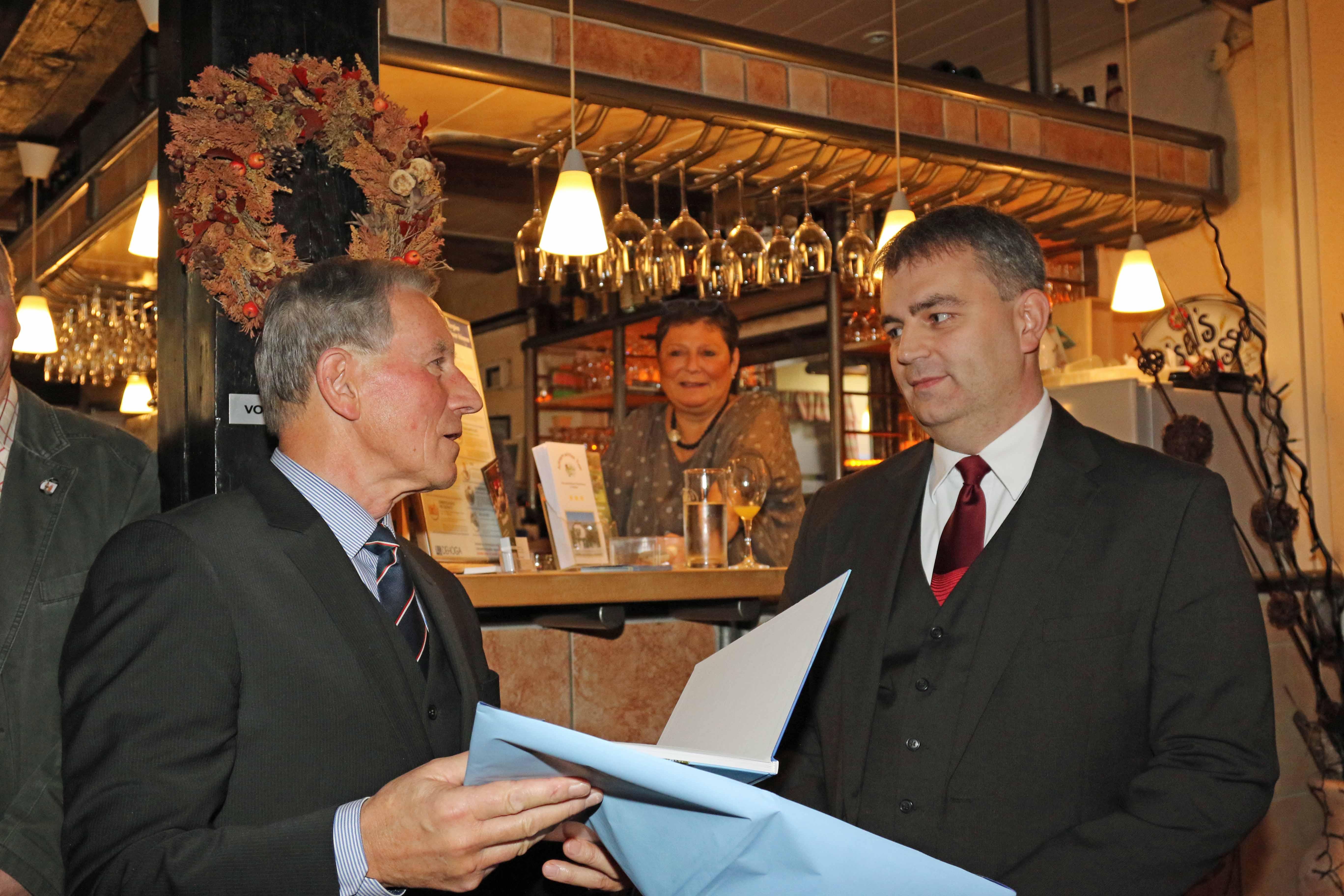Bürgermeister Lars Wunsch Lobt Engagierte Zusammenarbeit