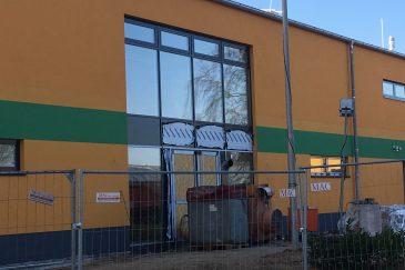 Mitglieder Des TSV Berkenthin Freuen Sich Auf Die Neue Sport- Und Mehrzweckhalle