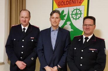 Wehrführer-Duo In Göldenitz Vereidigt
