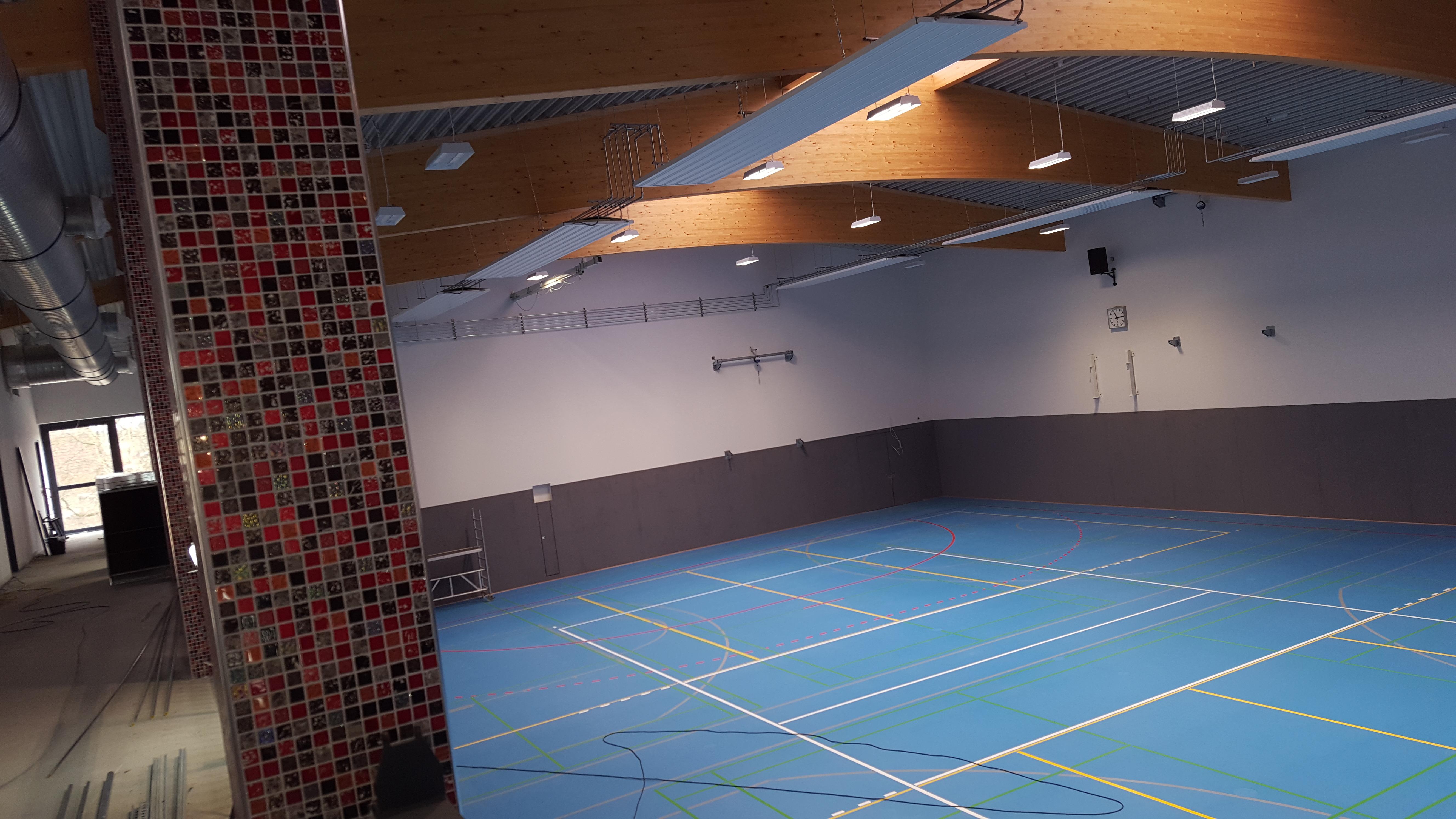 Einweihung der neuen Sport- und Mehrzweckhalle in Berkenthin schon Anfang Mai