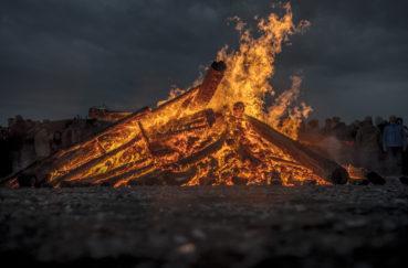 Osterfeuer Am 31. März In Berkenthin