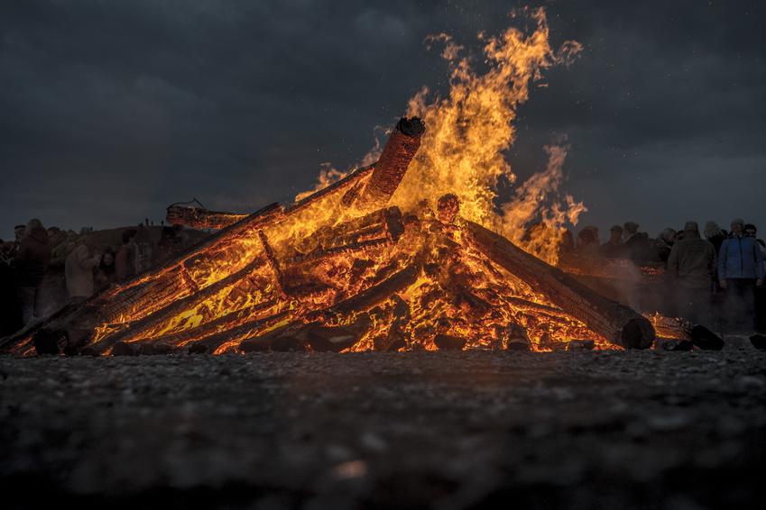 Corona: Osterfeuer nicht zulässig