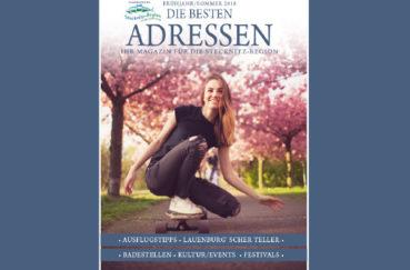 """""""DIE BESTEN ADRESSEN"""" – Neuausgabe Des Magazins Für Die Stecknitz-Region Erhältlich"""