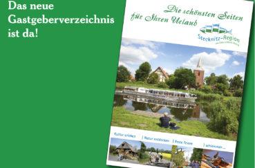Neues Gastgeberverzeichnis Der Stecknitz-Region – Informationen Und Viele Tolle Bilder Auf 68 Seiten