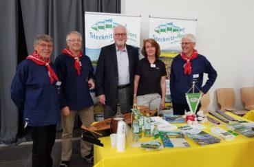 Stecknitz-Region Präsentiert Sich Auf Dem Landfrauentag In Neumünster Und Erhält Viel Lob Dafür