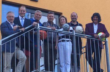 Neue Sport- Und Mehrzweckhalle In Berkenthin Eingeweiht