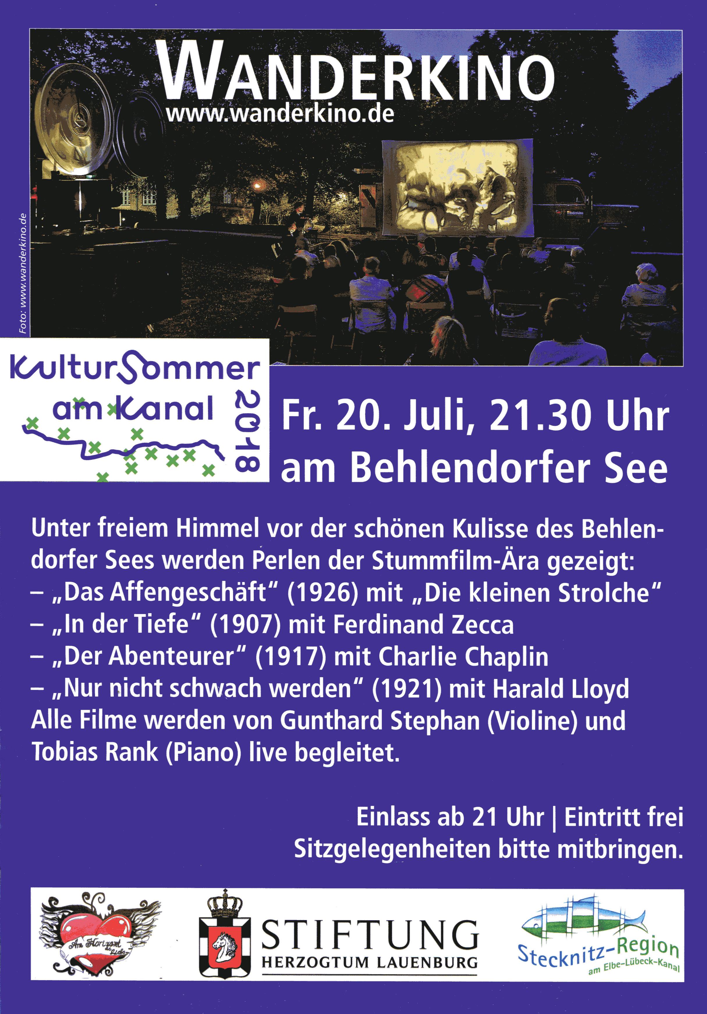 Behlendorf: Das Wanderkino kommt in die Stecknitz-Region
