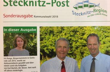Stecknitz-Post An Alle Haushalte Verteilt