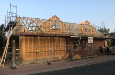 Feuerwehrhaus In Niendorf Erhält Neue Dachkonstruktion