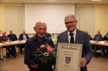 Jörg Krieger Mit Ehrenmedaille Der Gemeinde Krummesse Ausgezeichnet