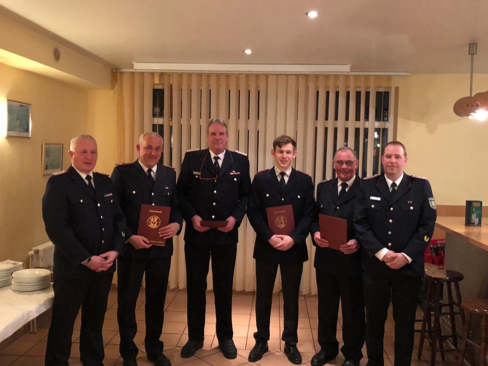 Jahreshauptversammlung Der Niendorfer Feuerwehr