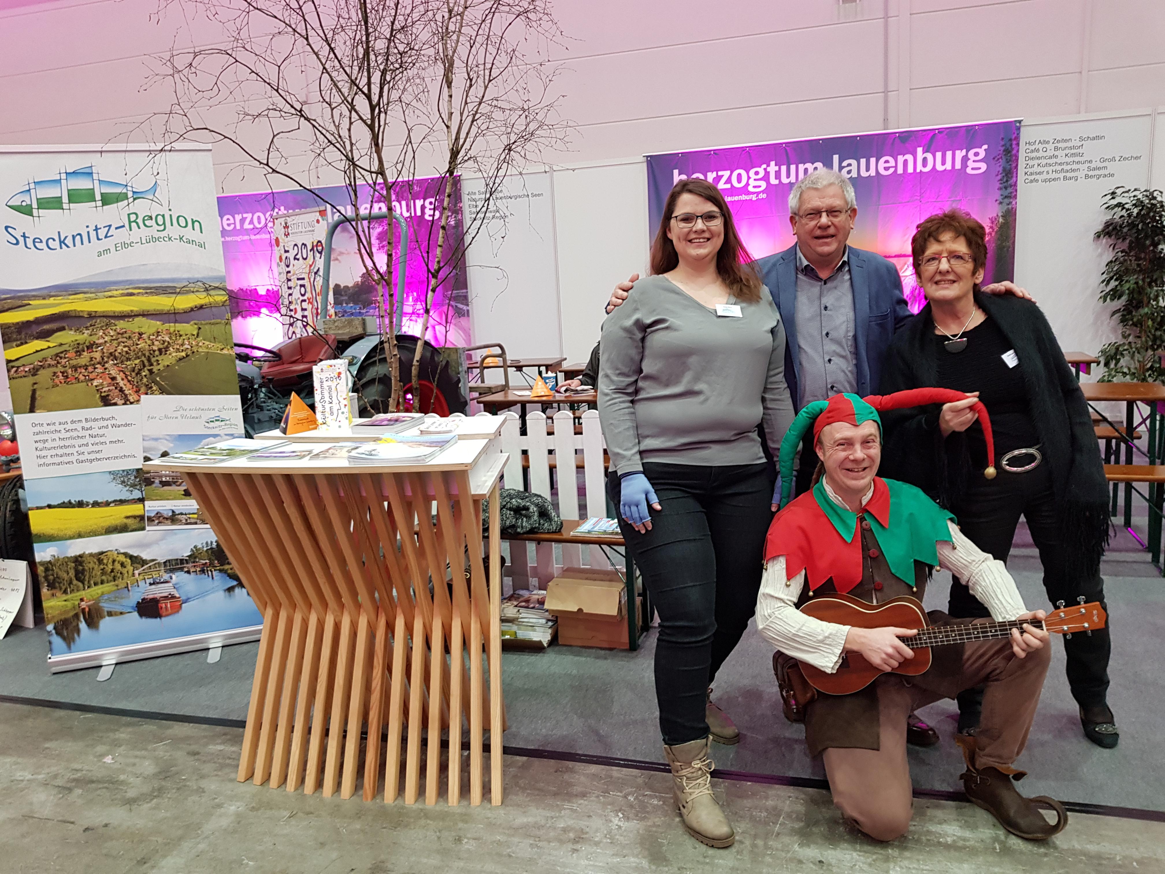 Stecknitz-Region Auf Der Freizeitmesse In Hamburg Vertreten