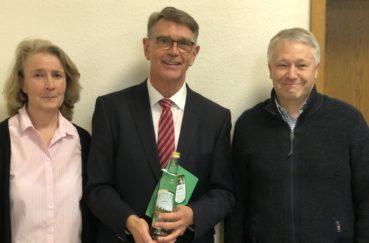 Amtsausschuss Berkenthin Dankt Bürgermeister Rainer Voß (Ratzeburg) Für Seine Tätigkeit Als Vorsitzender Der AktivRegion Nord