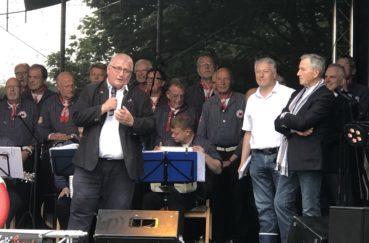 Berkenthiner Trotzen Dem Wetter: Eröffnung Des KulturSommers Am Kanal Sowie Veranstaltungen Am Nachmittag Und Abend Finden Planmäßig Statt