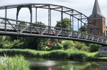 Kirchsteigbrücke über Den Elbe-Lübeck-Kanal In Berkenthin Wird Erneuert