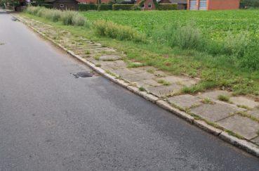 Neuverlegung Stromkabel In Der Ortsdurchfahrt Klempau