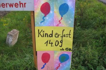 Klempauer Feiern Tagsüber Kinderfest, Am Frühen Abend Oktoberfest