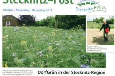 Stecknitz-Post Für Monate Oktober Bis Dezember Wird An Alle Haushalte Verteilt