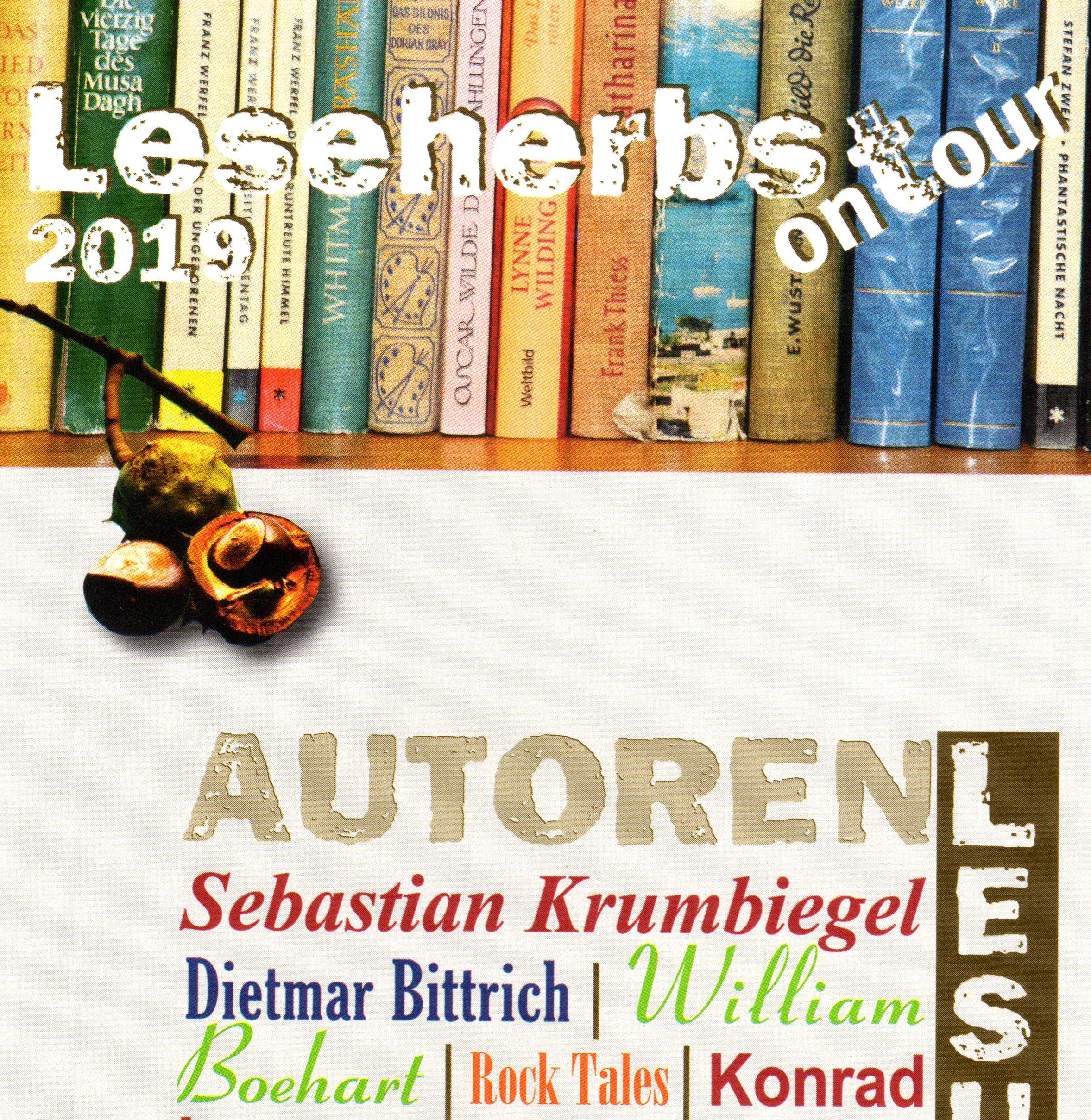 "Leseherbst On Tour 2019 – Sebastian Krumbiegel ""Courage Zeigen"""
