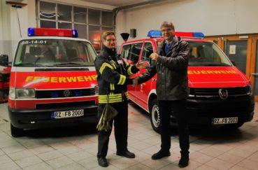 Gemeinde Bliestorf Stellt Neuen MTW In Dienst Der Freiwilligen Feuerwehr