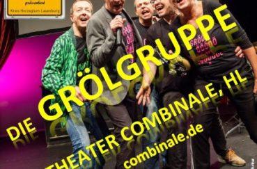 Die Grölgruppe Des Theater Combinale Lübeck In Berkenthin