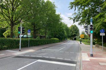 Neue Fußgänger-Ampel In Berkenthin