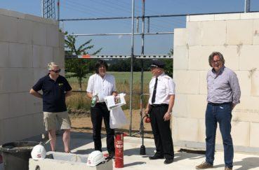 Gemeinde Berkenthin Legt Grundstein Für Neues Feuerwehrhaus