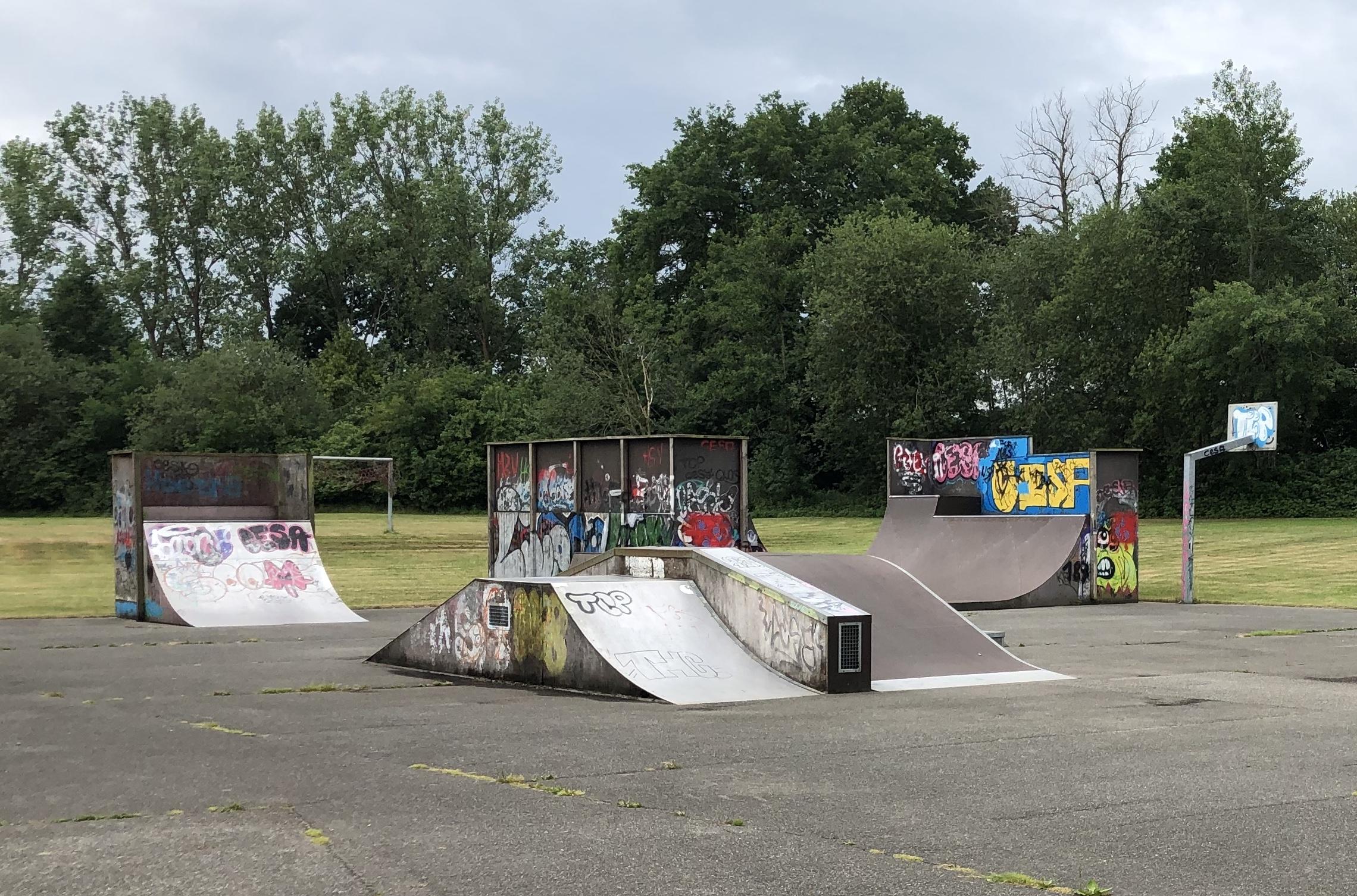 Skaterplatz In Berkenthin Wieder Geöffnet