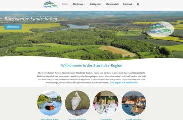 Neue Homepage Der Stecknitz-Region