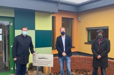 Landtagsabgeordneter Christopher Vogt (FDP) Besucht Stecknitz-Schule Und Hebt Engagement Der Beteiligten Vor Ort Hervor