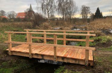 Bauhof Der Gemeinde Berkenthin Erneuert Brücken Im Dorfpark