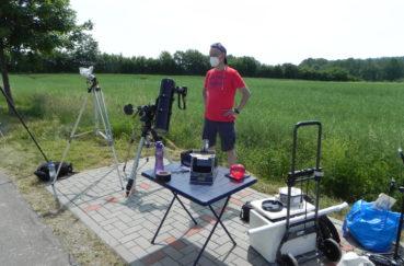 Stecknitz-Astronomen Standen Zur Sonnenfinsternis Rede Und Antwort