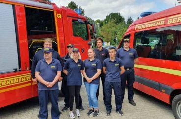 Die Feuerwehr Berkenthin Verlegt Nach Rheinland-Pfalz Zur Katastrophenhilfe