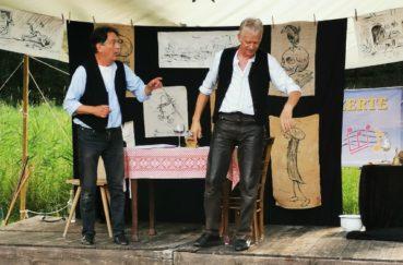 Wilhelm-Busch-Abend Beendete Die Berkenthiner Sommerkonzerte